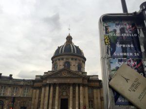 Das Institut de France mit seiner beeindruckenden Kuppel