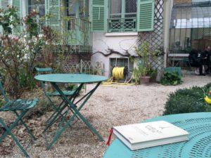 Im Garten des Musée de la Vie Romantique