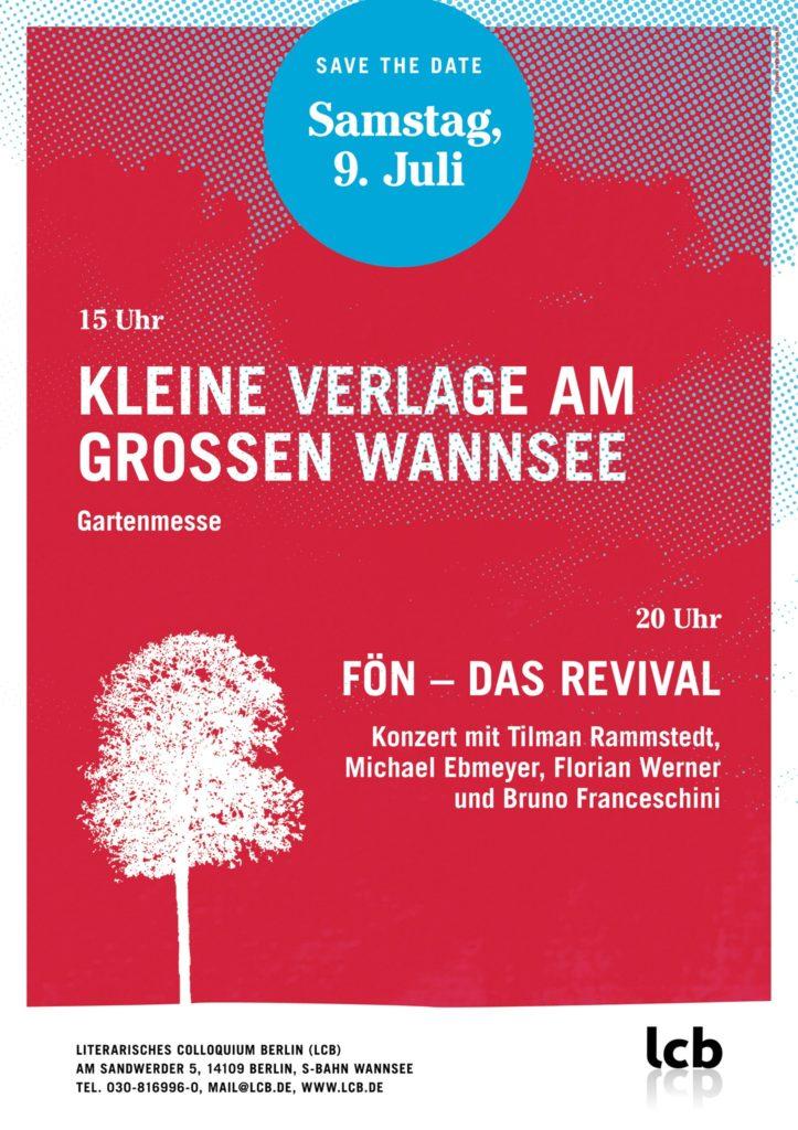 Kleine Verlage am Großen Wannsee