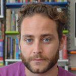 Saleem Haddad auf der Leipziger Buchmesse, Porträt von Sami Haddad